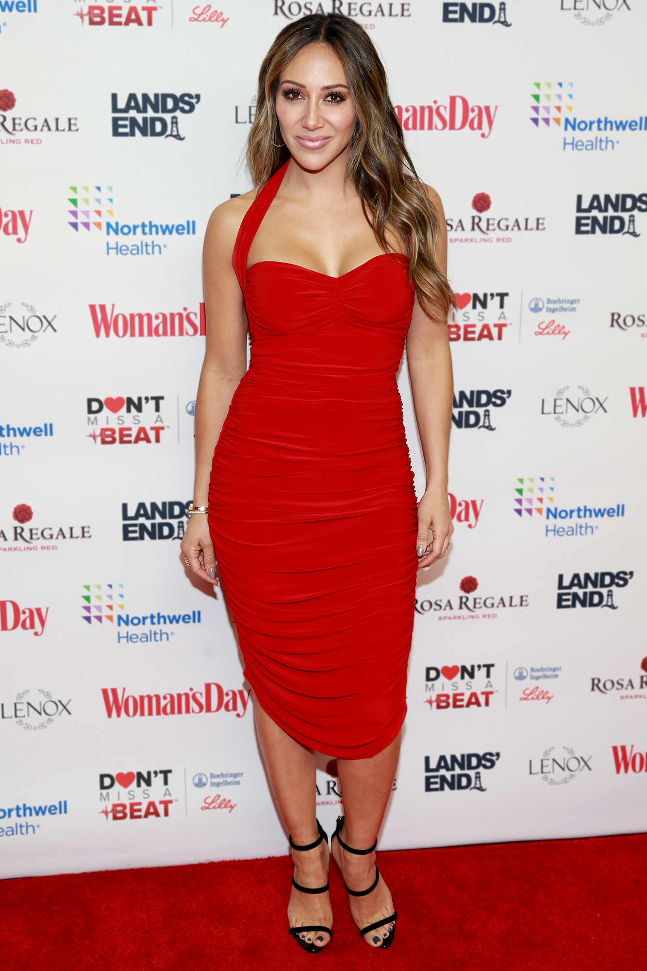 Melissa Gorga: 'I Don't Think' Teresa Giudice Will Move to Italy If Joe Giudice Is Deported - Melissa Gorga attends 'Woman's Day Celebrates 16th Annual Red Dress Awards' on February 12, 2019 in New York City.