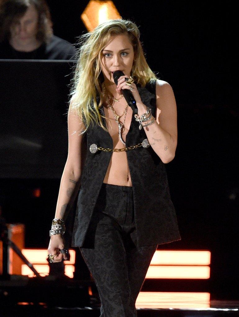 2019 Grammys Miley Cyrus