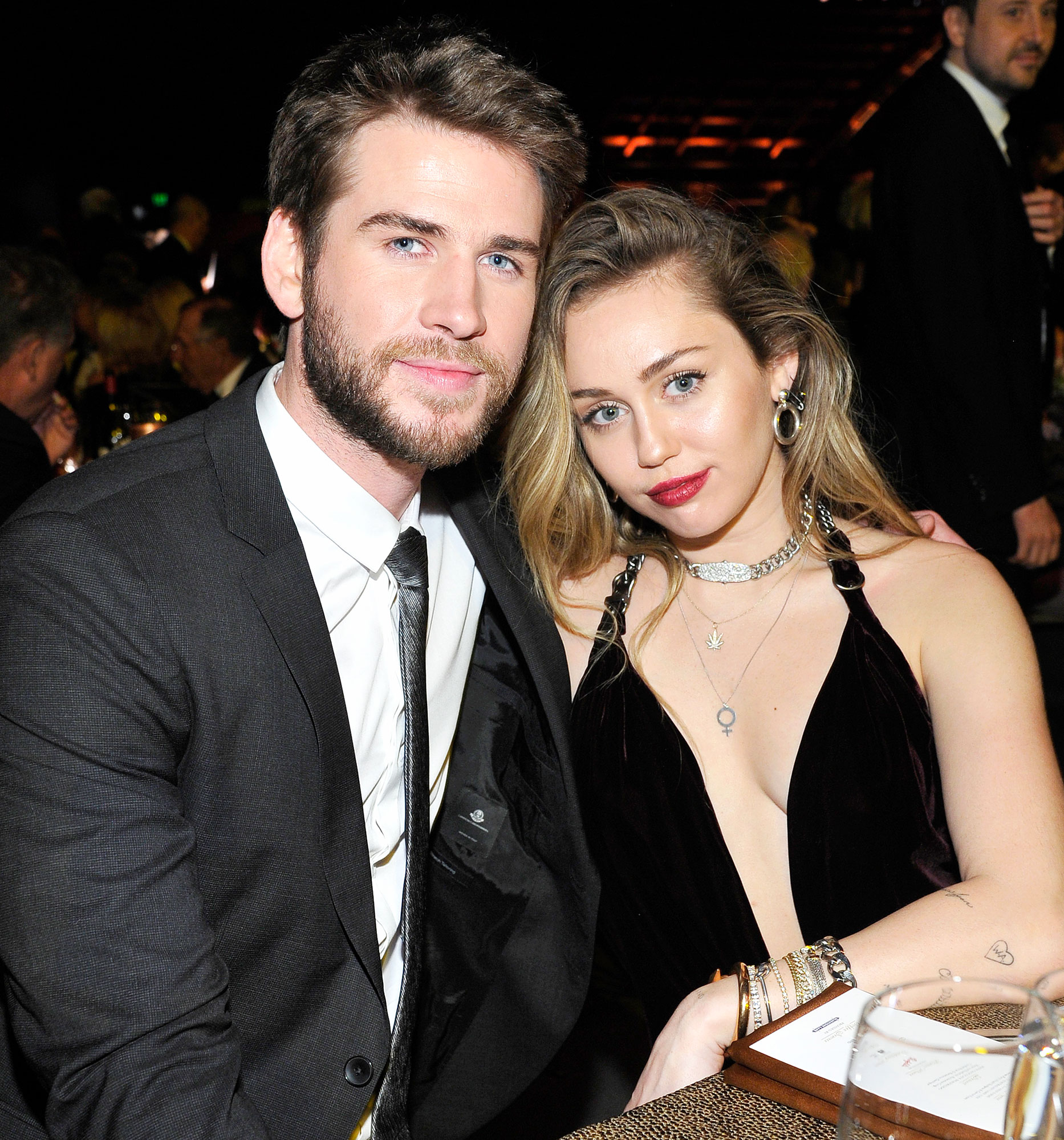 Miley Cyrus Not Sure Liam Hemsworth Marriage Without Malibu Fires Vanity Fair