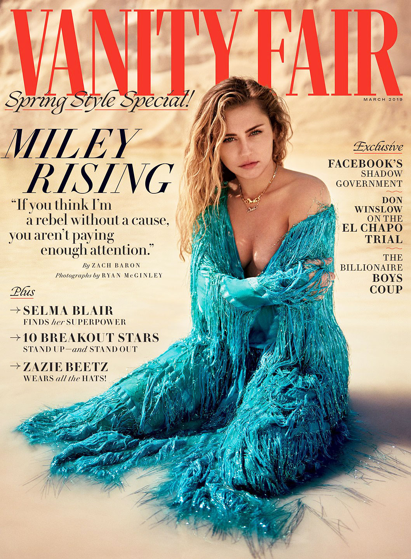 Miley Cyrus Vanity Fair Cover