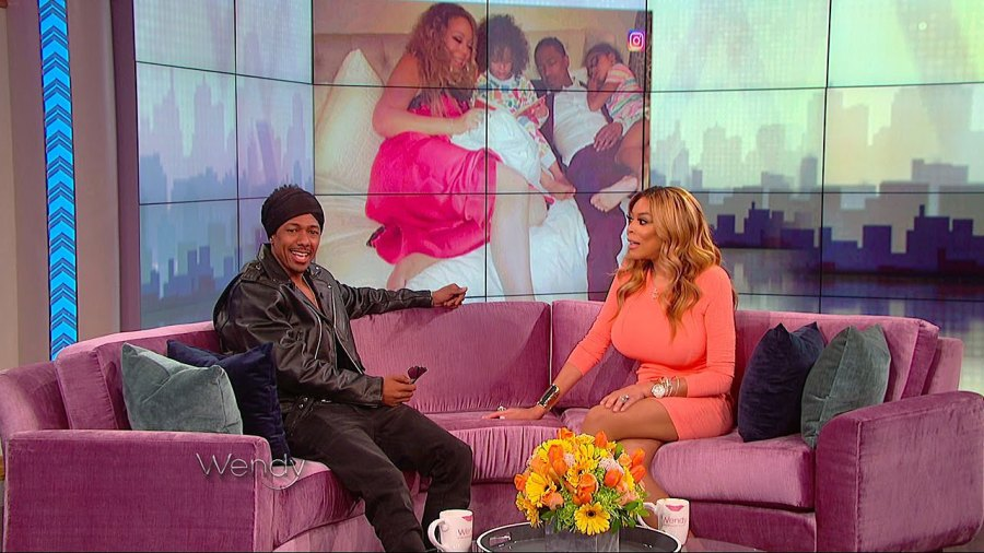 Nick Cannon Says Wendy Williams Is Doing Great