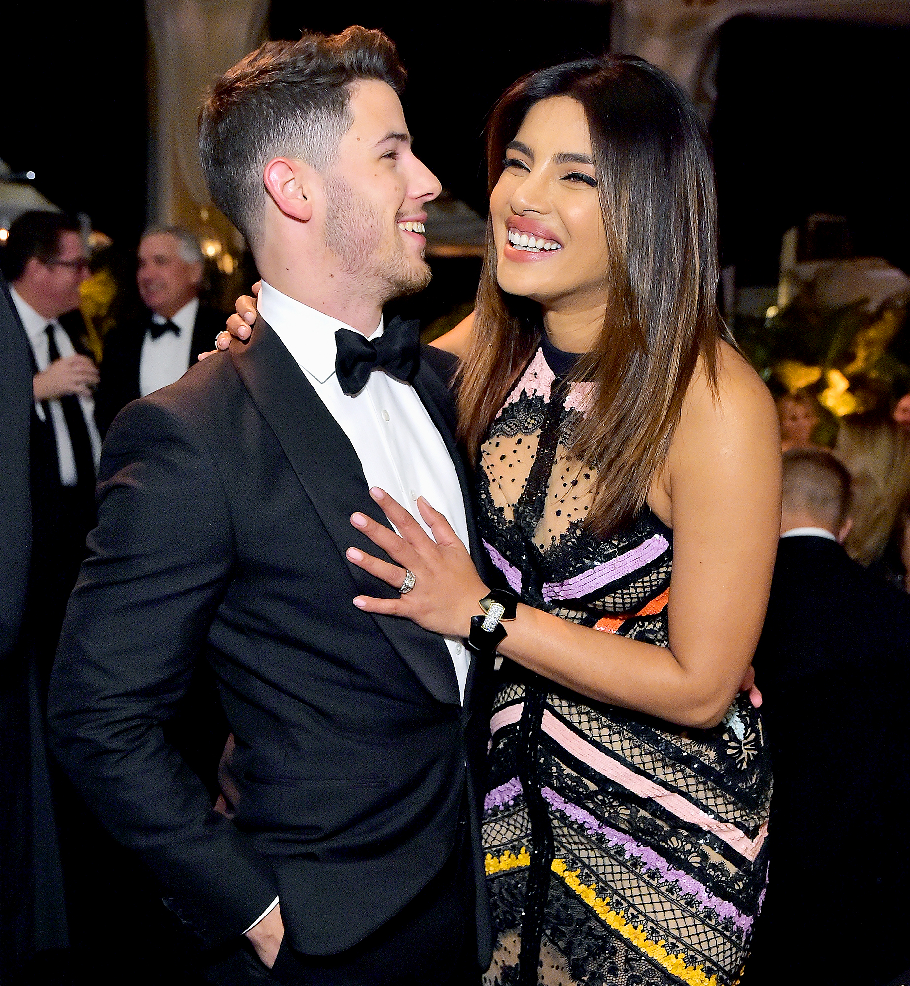 "Nick-Jonas-and-Priyanka-Chopra - The Quantio alum changed her name to Priyanka Chopra Jonas just days after she and the ""Jealous"" crooner tied the knot in December 2018. She explained her decision to Jimmy Fallon in February 2019: ""I always wanted to add his name to mine because I feel like, you know, we're becoming family and I'm a little traditional and old school like that. But I don't take away my identity — he gets added to who I am."""