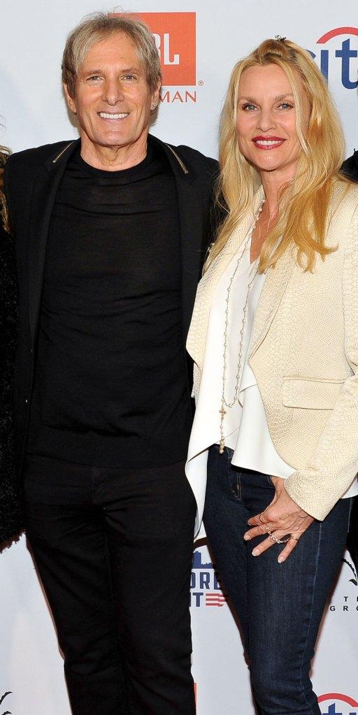 Nicollette Sheridan Denies Cheating on Ex-Husband Harry Hamlin