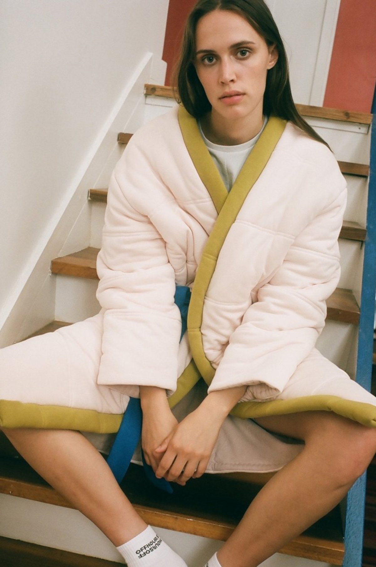 OFFHOURS robe pink