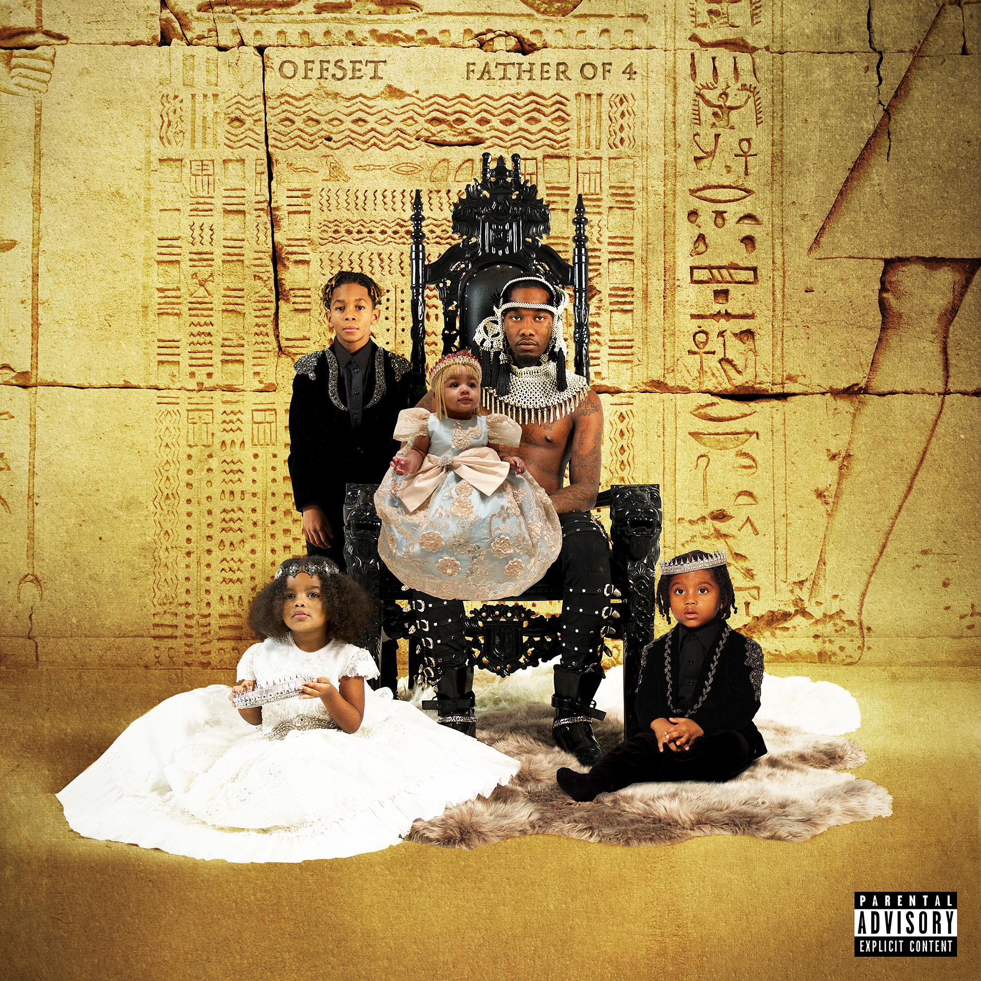 Why Offset Changed His 'Father of 4' Album Cover After Cardi B Shared First Photo of Their Daughter Kulture