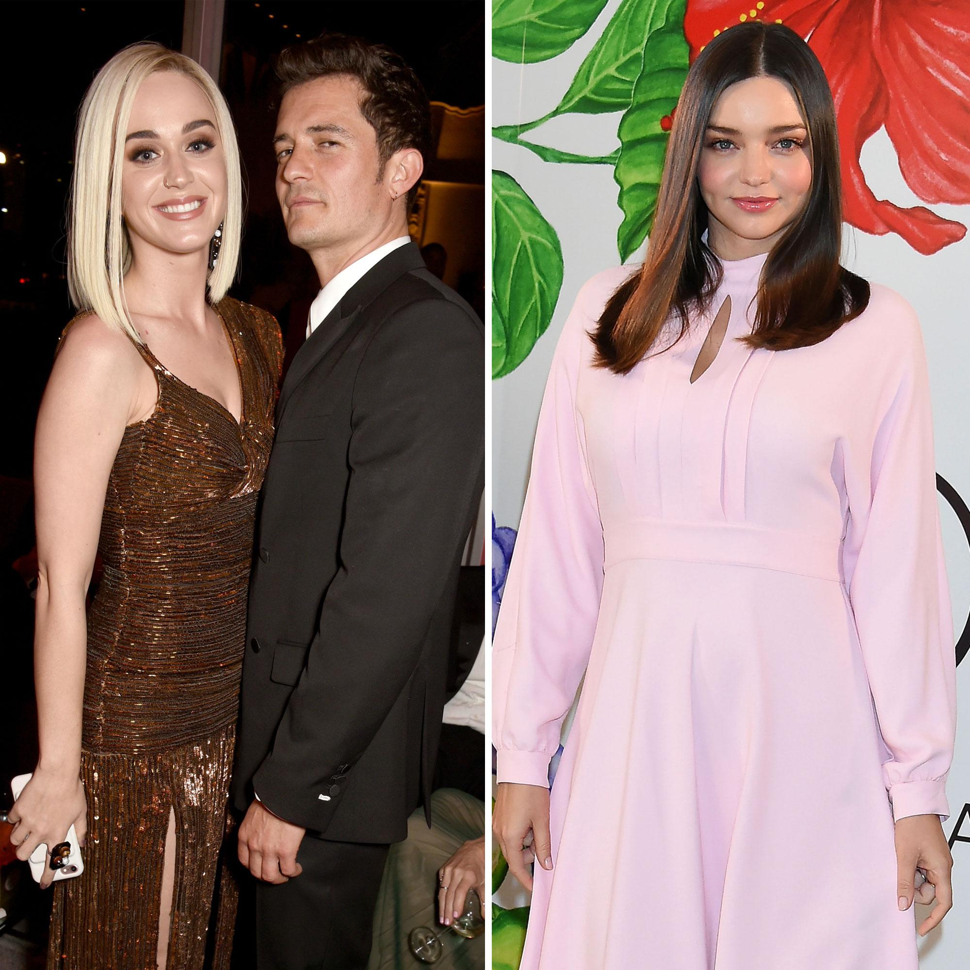 Orlando Bloom Gave Katy Perry Miranda Kerr Eerily Similar Rings