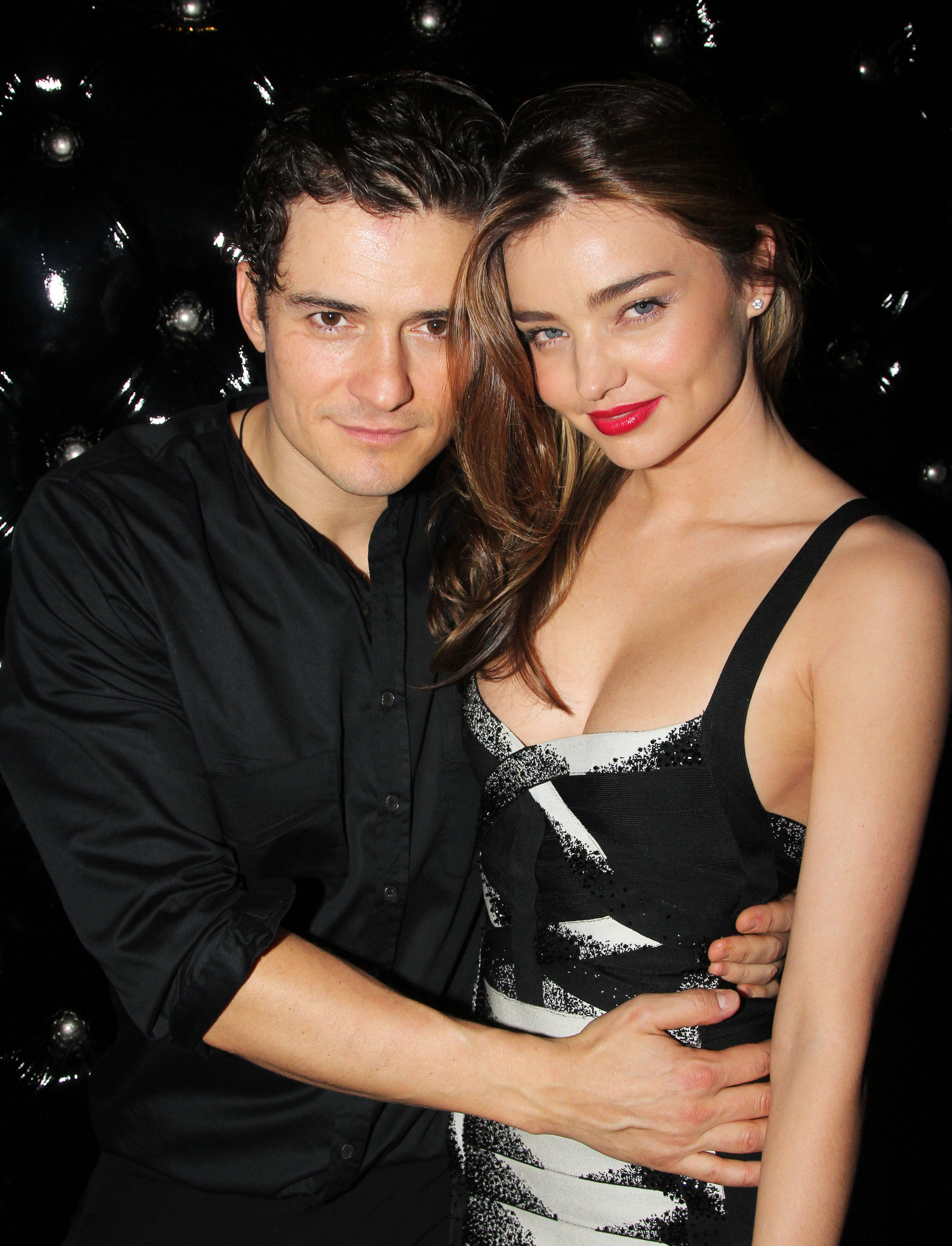 "Orlando Bloom Gave Katy Perry and Ex-Wife Miranda Kerr Similar Engagement Rings - Orlando Bloom and Miranda Kerr attend the after party for the Broadway opening night of ""Shakespeare's Romeo And Juliet"" at The Edison Ballroom on September 19, 2013 in New York City."
