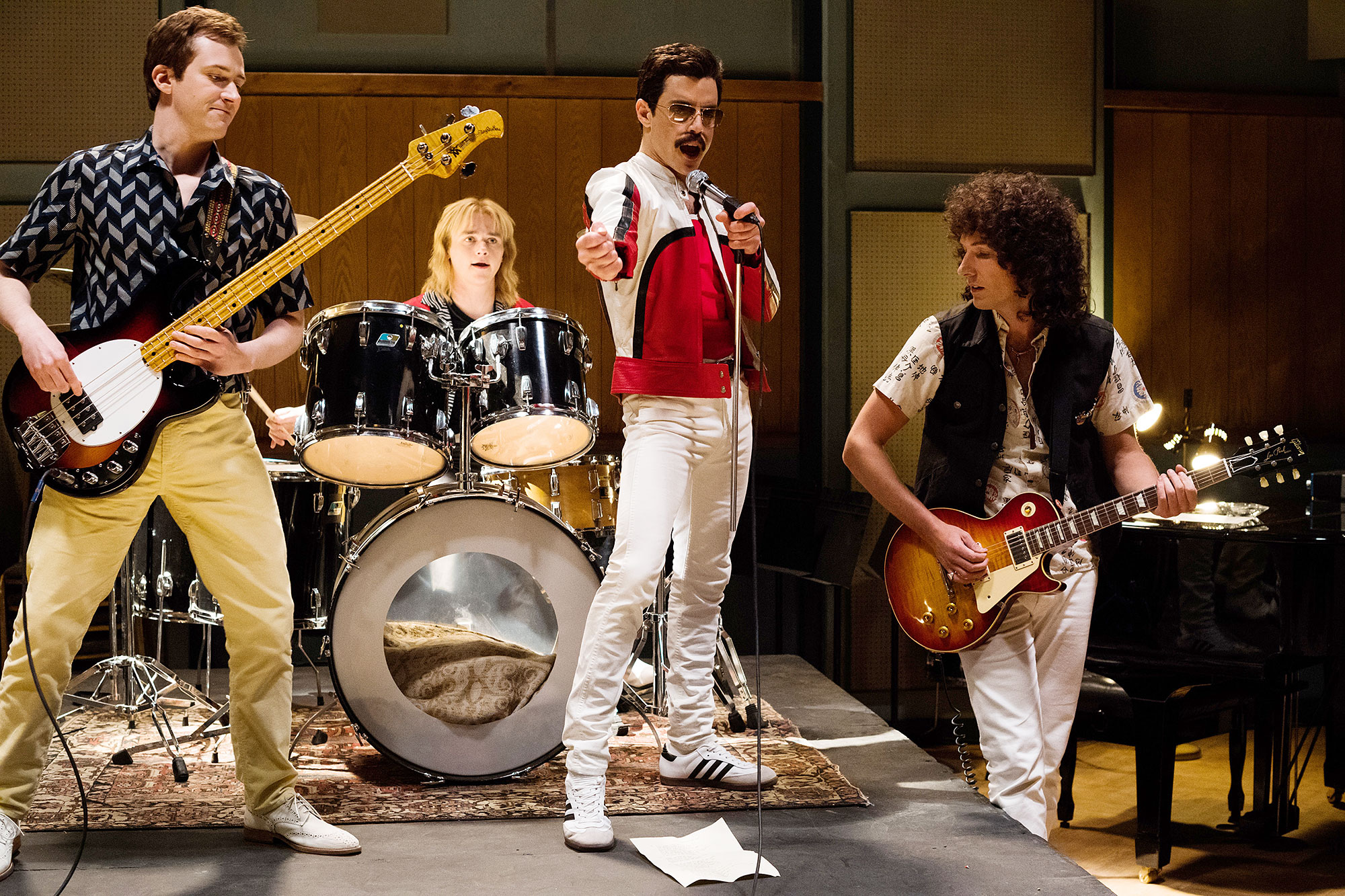 Oscars 2019 Bohemian Rhapsody Sound Mixing - Black Panther Bohemian Rhapsody First Man Roma A Star Is Born