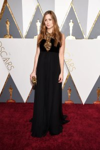 Hannah Redmayne Pregnant Celebrities Showing Off Their Baby Bumps on the Oscars Red Carpet