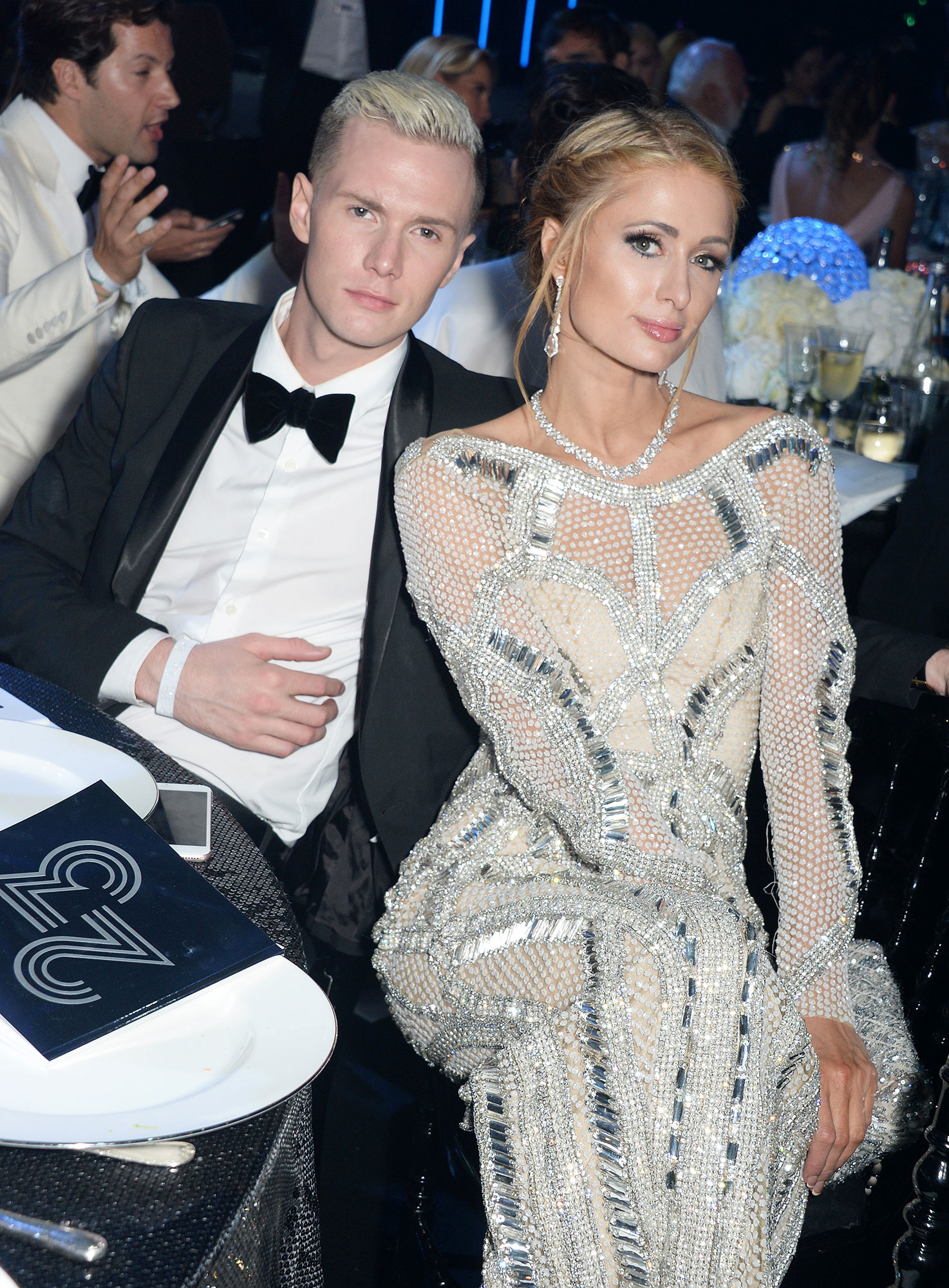 Paris Hilton's Brother Barron Hilton Knows She'll Find Love Again After Ending Engagement to Chris Zylka - Barron Hilton (L) and Paris Hilton attend amfAR's 23rd Cinema Against AIDS Gala at Hotel du Cap-Eden-Roc on May 19, 2016 in Cap d'Antibes, France