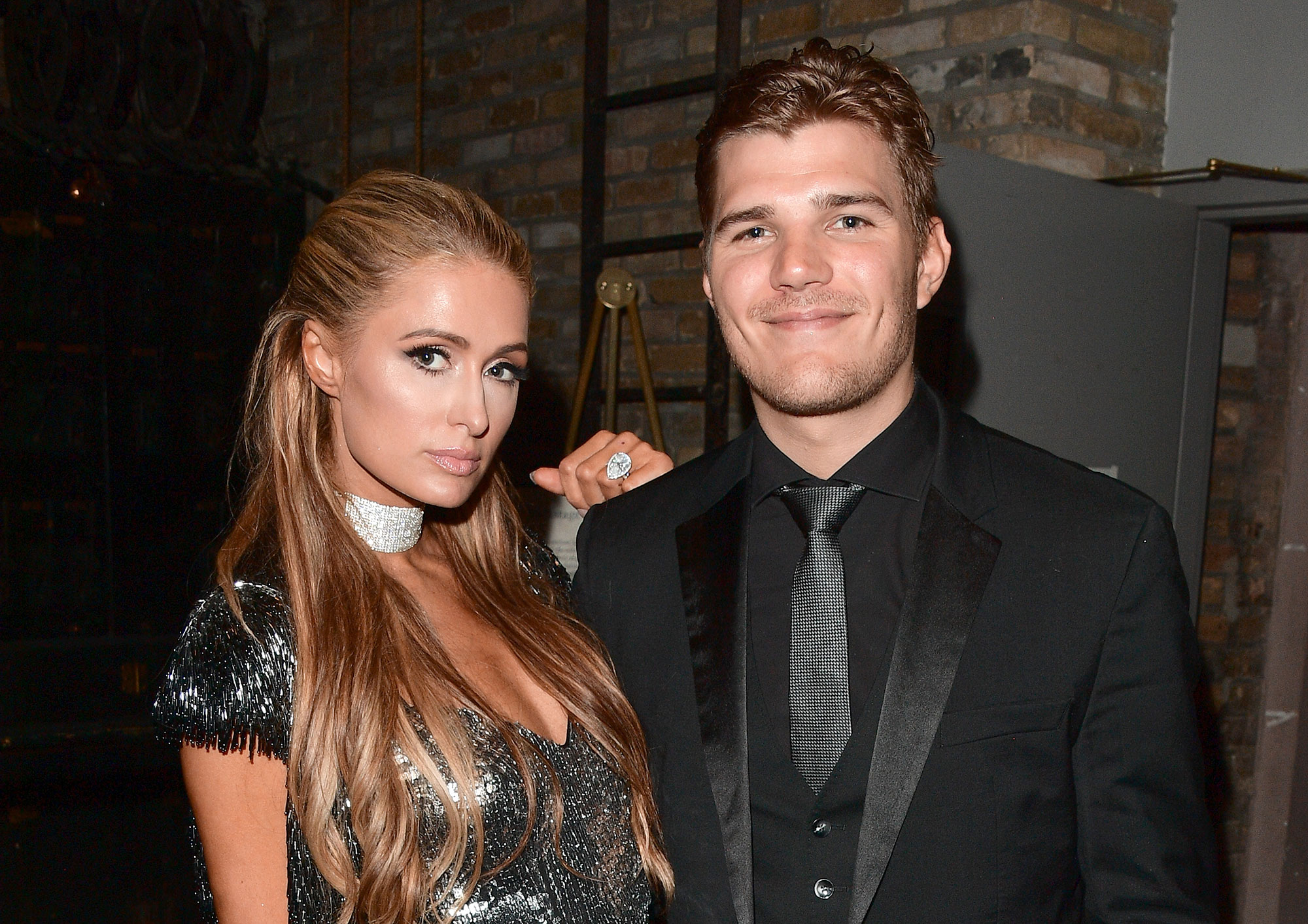 """Paris Hilton's Brother Barron Hilton Knows She'll Find Love Again After Ending Engagement to Chris Zylka - Paris Hilton (L) and Chris Zylka attend the """"The Death And Life Of John F. Donovan"""" premiere during 2018 Toronto International Film Festival at Winter Garden Theatre on September 10, 2018 in Toronto, Canada."""