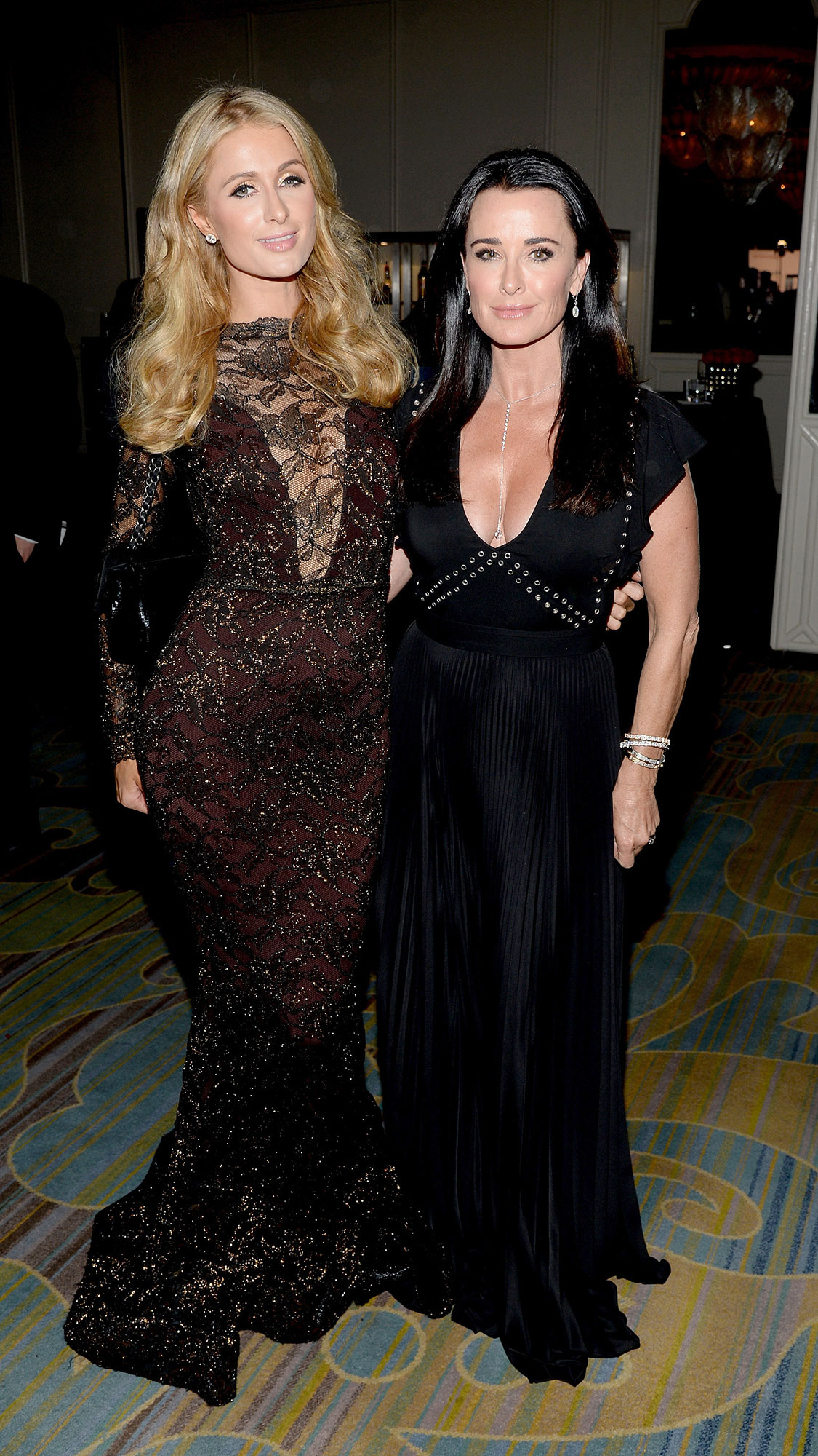 Kyle Richards Knows Niece Paris Hilton Will Find Love Again - Paris Hilton (L) and Kyle Richards