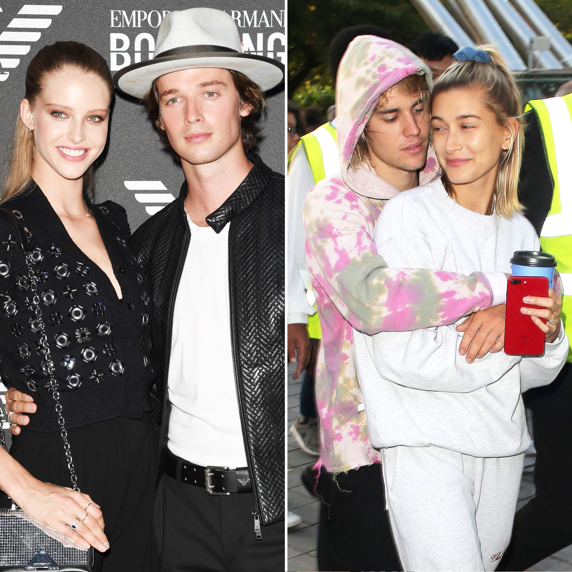 Patrick Schwarzenegger Jokingly Calls Justin Bieber and Hailey Baldwin the '2nd Best Looking Couple' After Himself, Girlfriend Abby Champion - Abby Champion, Patrick Schwarzenegger, Justin Bieber and Hailey Baldwin