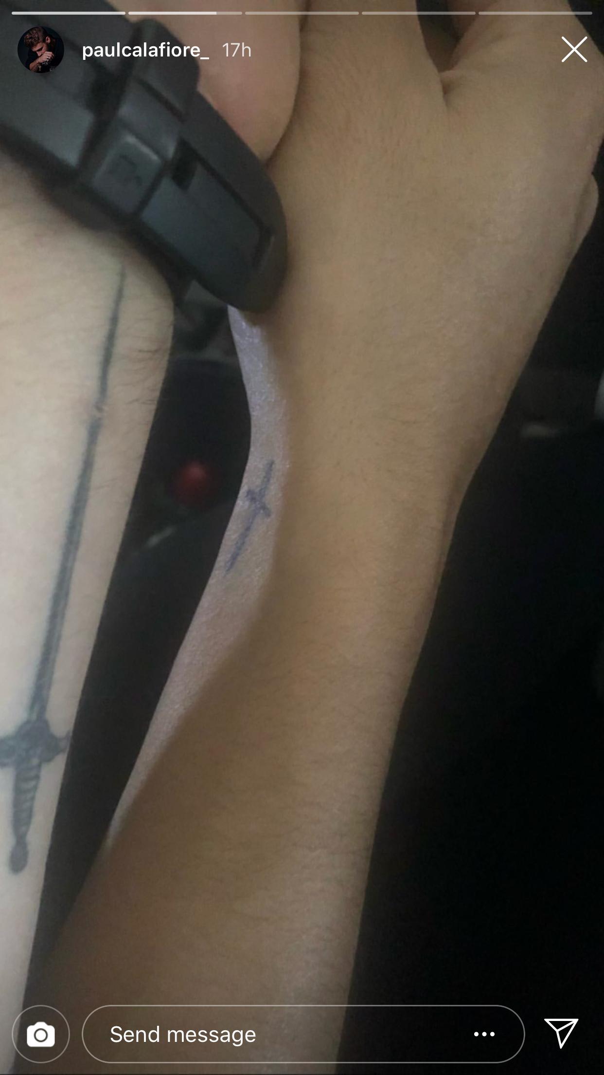 Paulie-Calafiore-cara-marie-tattoos - Paulie Calafiore