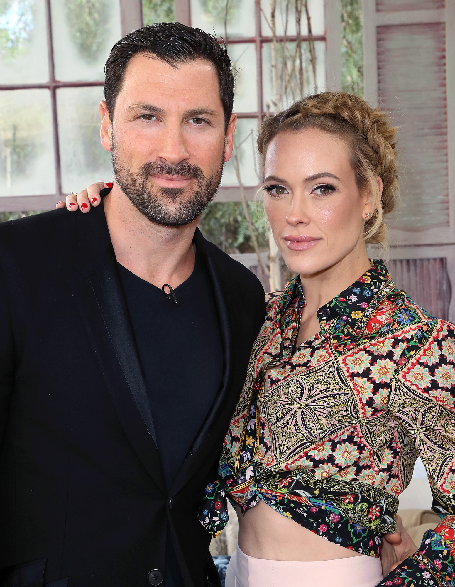 bfef643e4bf Peta Murgatroyd Admits She and Maksim Chmerkovskiy Would Be Upset If Their  Son Was  Uncoordinated