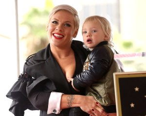 Pink's 2-Year-Old Son Jameson Rides an Electric Bike in New Video: 'He Picked it up Instantly'