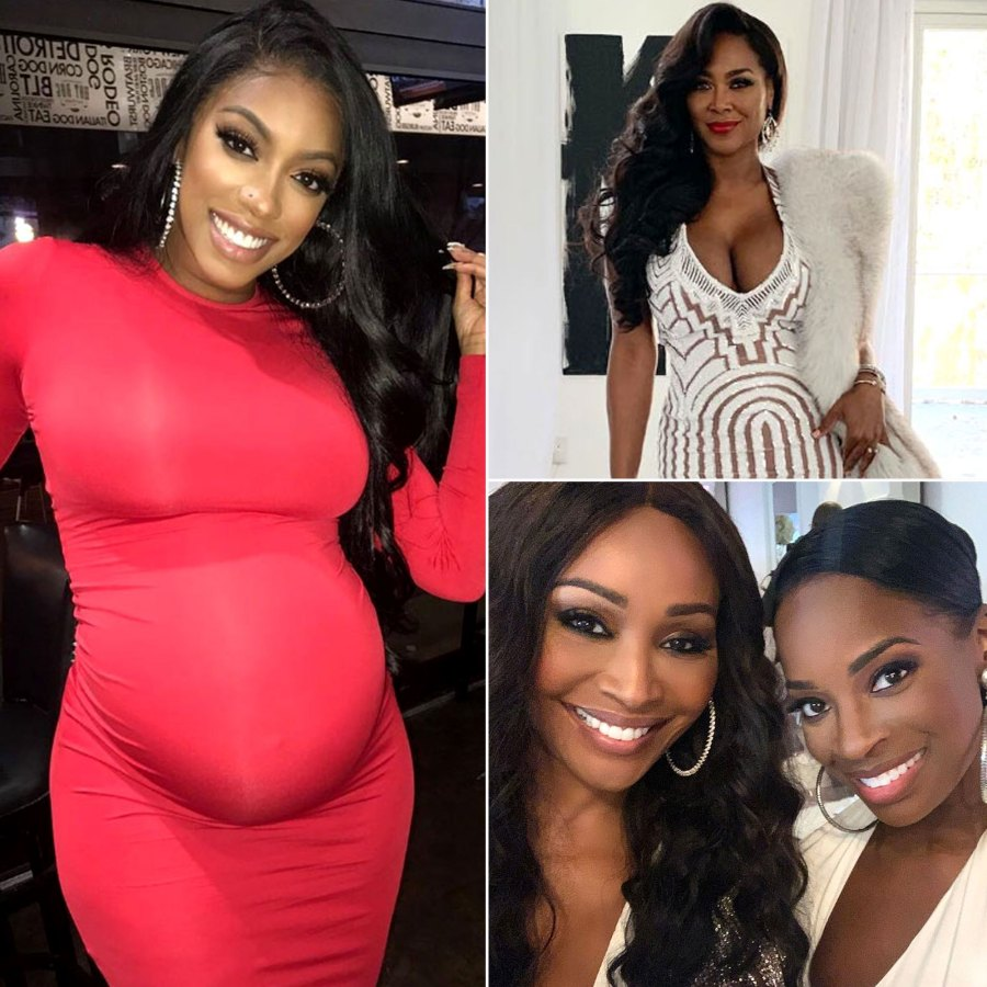 Porsha Williams Celebrates Baby Shower With 'Real Housewives of Atlanta' Stars