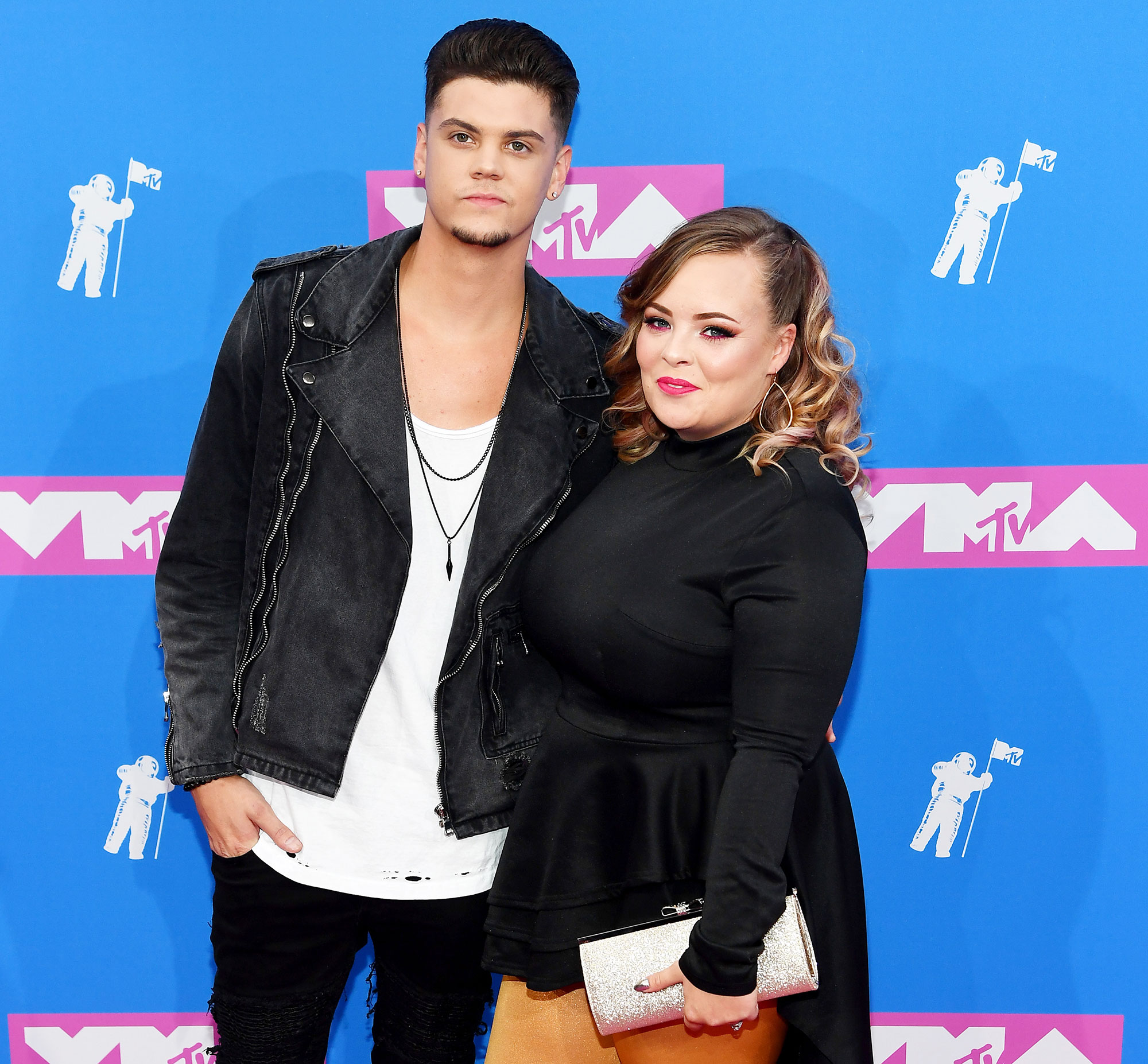 Pregnant Catelynn Lowell Contractions - Tyler Baltierra and Catelynn Lowell attend the MTV Video Music Awards at Radio City Music Hall on August 20, 2018 in New York City.