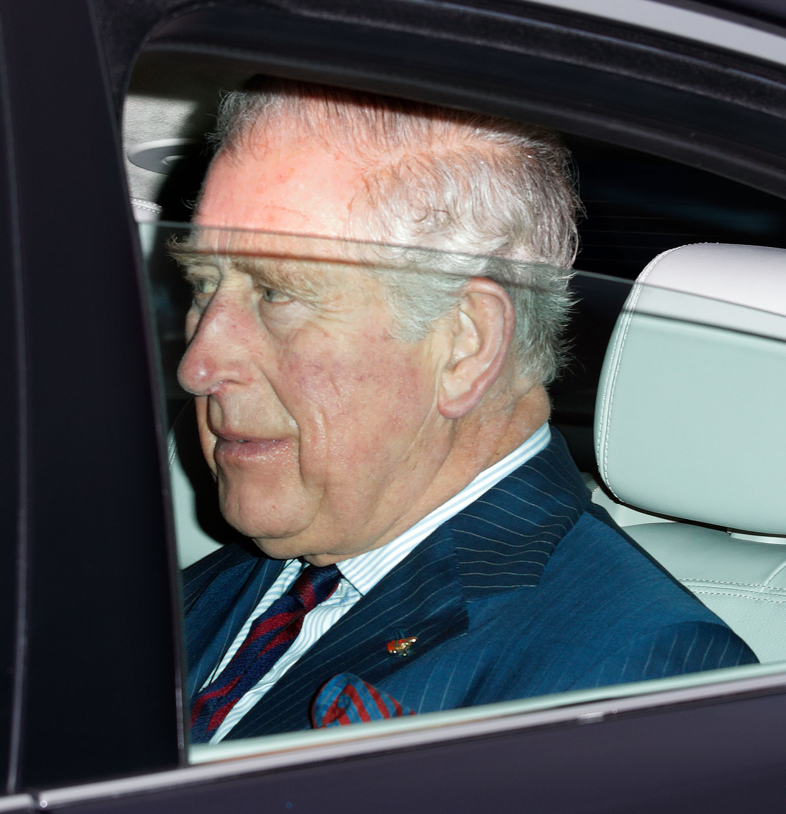 Prince Charles Spotted Without a Seatbelt After Prince Philip's Accident - Prince Charles, Prince of Wales attends a Christmas lunch for members of the Royal Family hosted by Queen Elizabeth II at Buckingham Palace on December 19, 2018