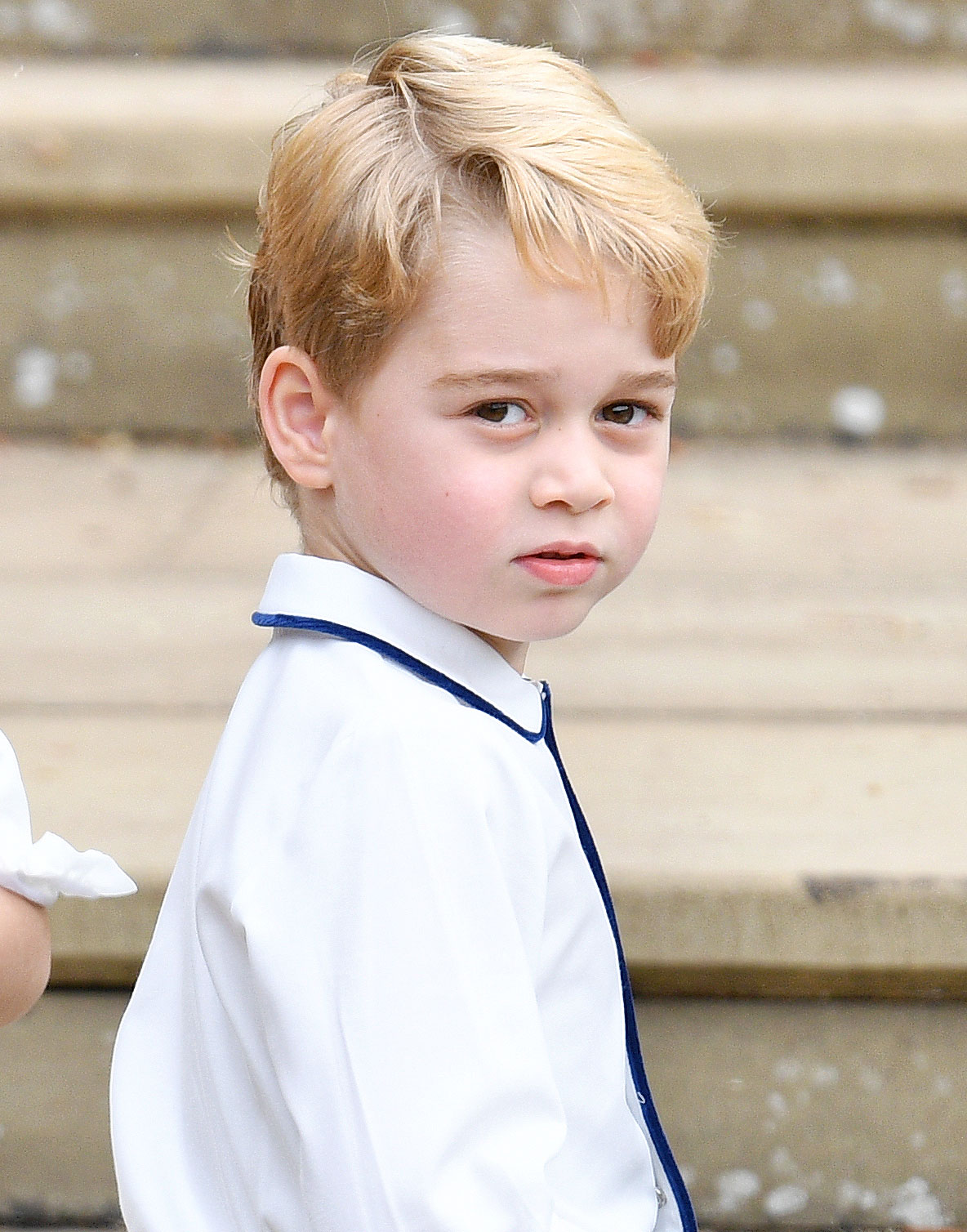 Prince George Duchess Kate Rubbish Soccer
