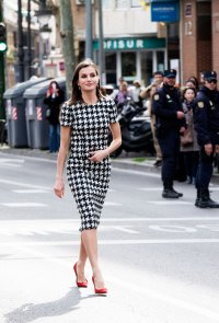 Queen Letizia Proves She's a Style Queen Once Again in Gingham