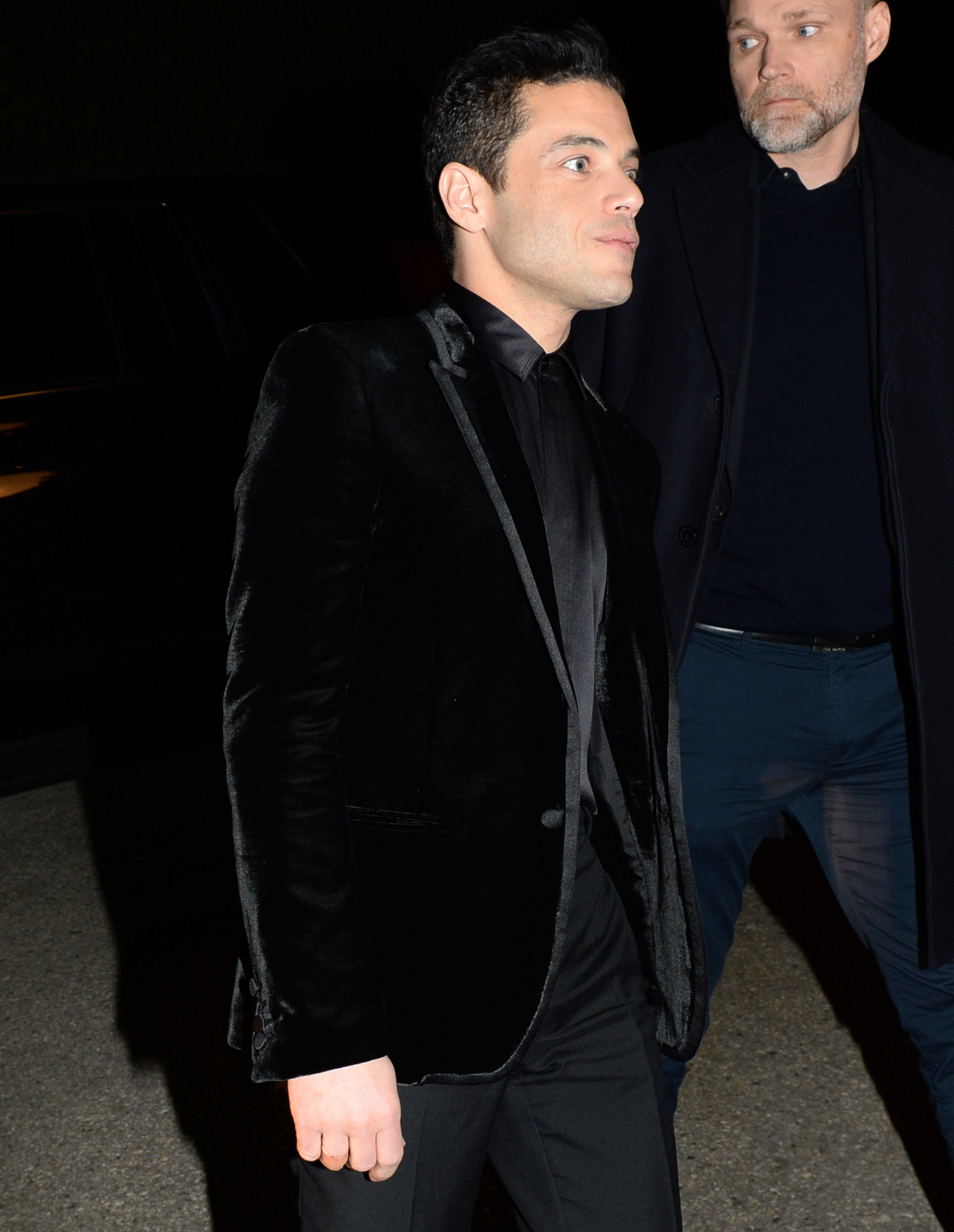 Rami Malek WME - The Oscar nominee also showed up for the WME party looking svelte as can be.