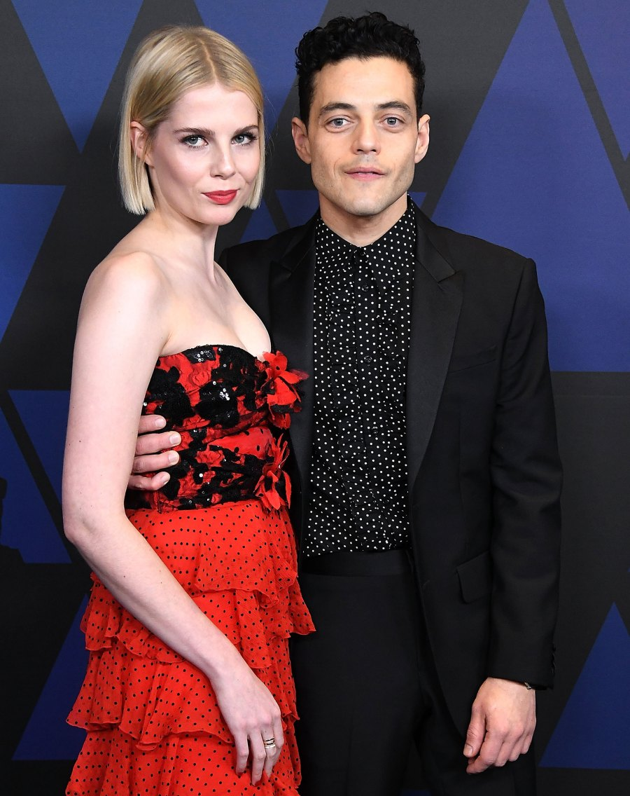 Rami Malek and Lucy Boynton's Most Star-Studded Moments