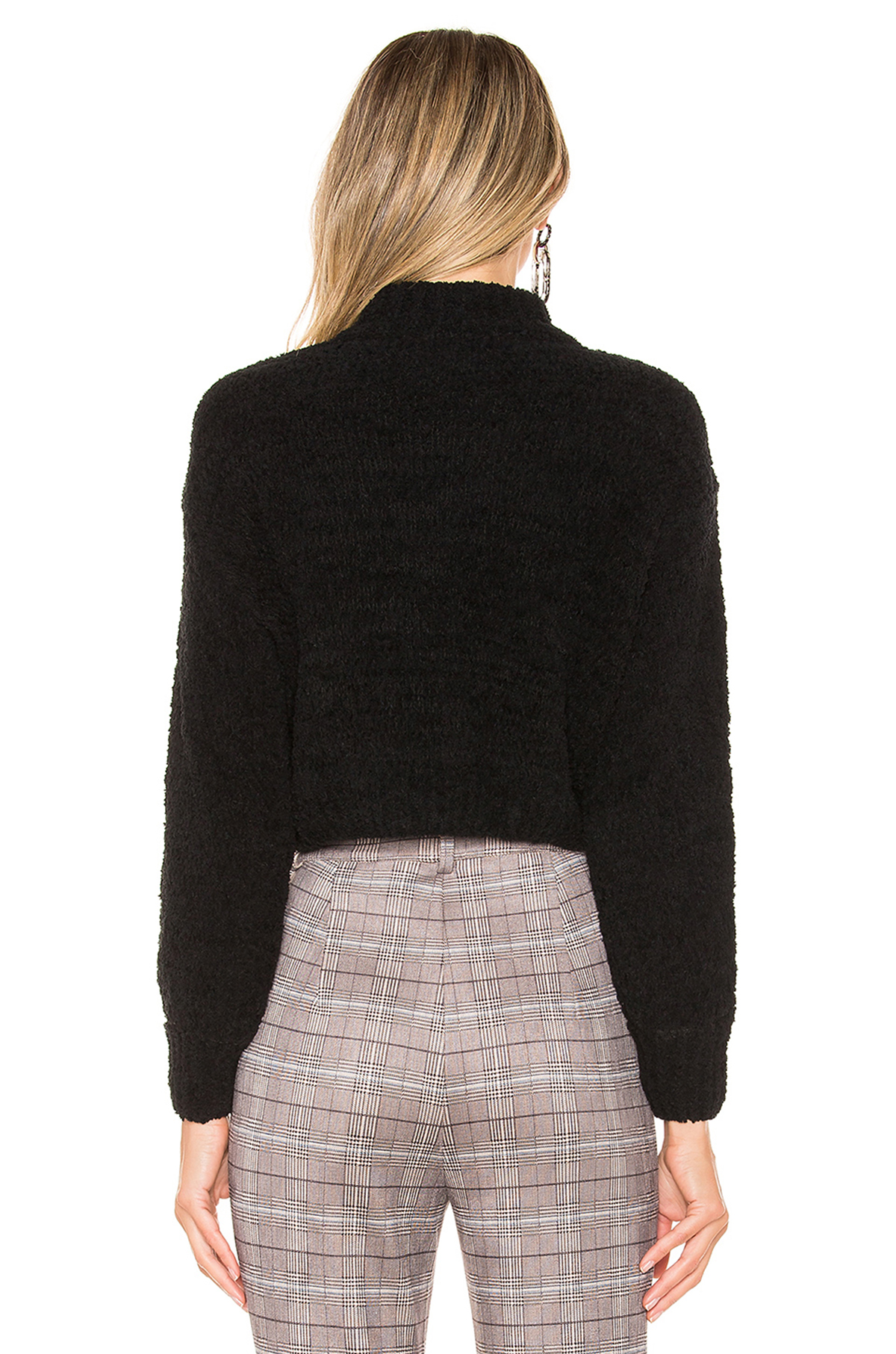 Revolve Chenille Sweater Back
