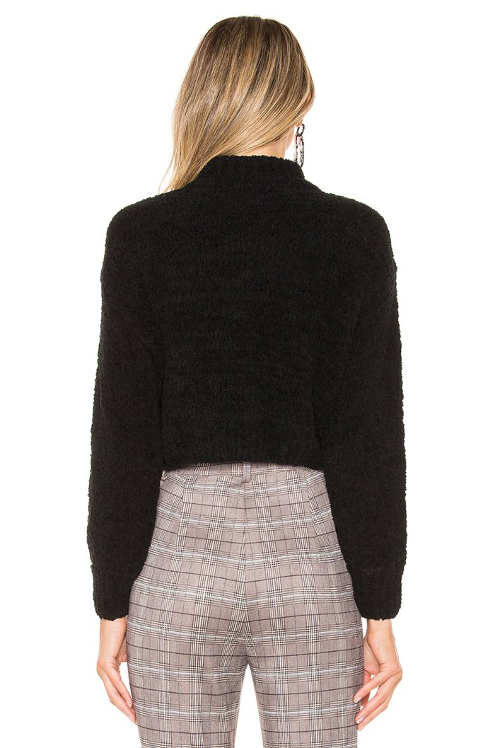 Revolve Chenille Sweater Back