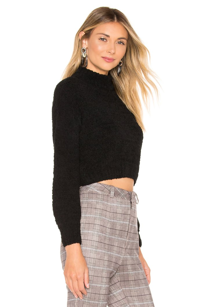 Revolve Chenille Sweater Side