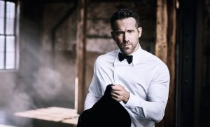 Ryan Reynolds Tells Us About His New Armani Fragrance Campaign and Beauty Routine