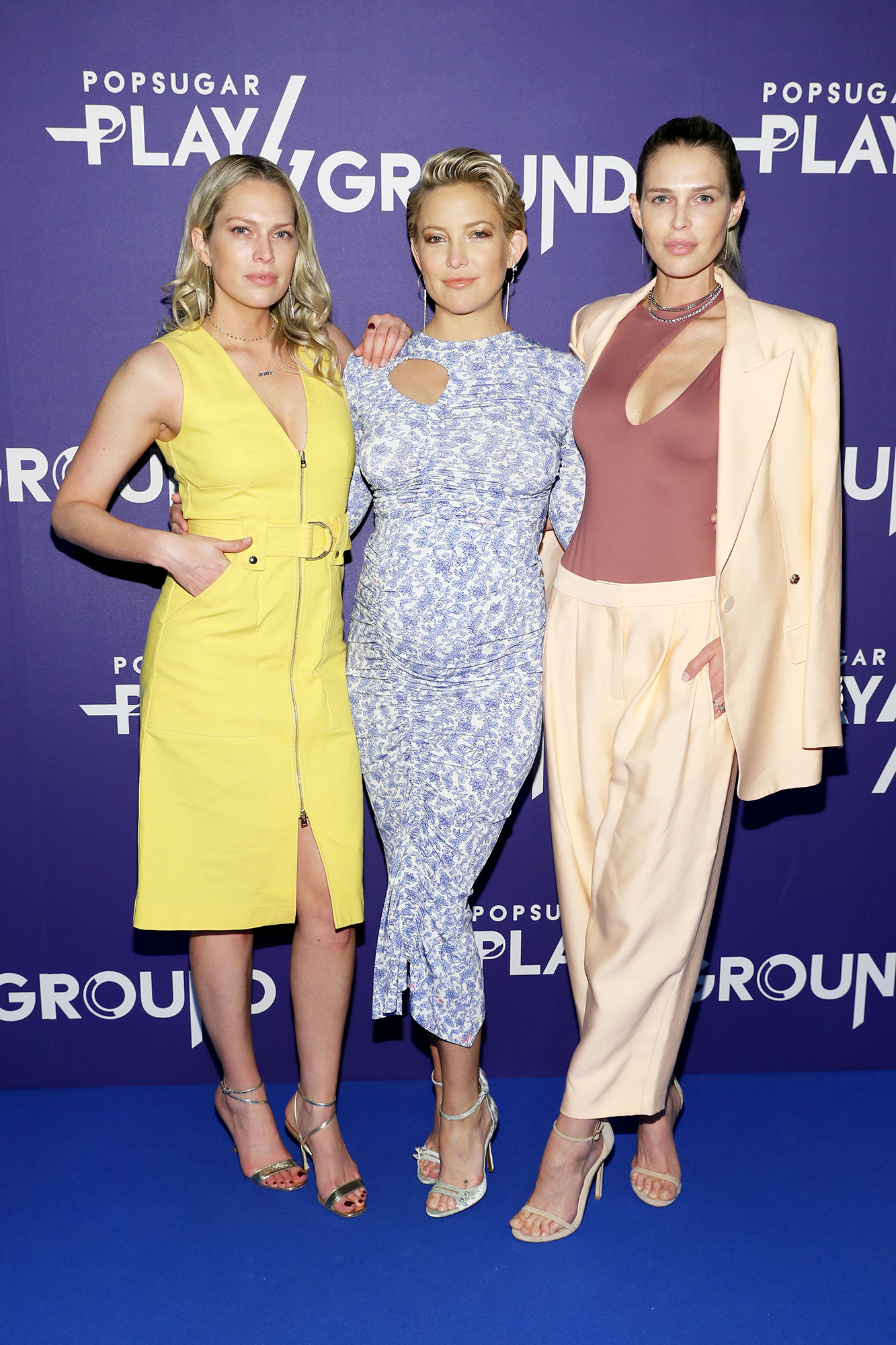 Sara and Erin Foster Praise Busy Mom Kate Hudson for Her Hands On Parenting - Erin Foster, Kate Hudson and Sara Foster