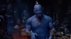 See Will Smith as the Blue Genie in New 'Aladdin' Trailer