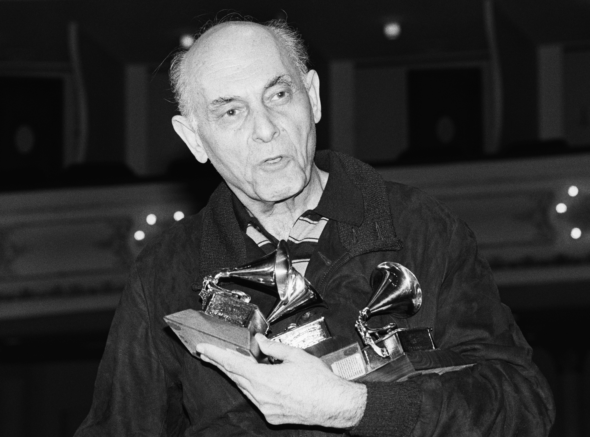 Sir-Georg-Solti-grammy-awards - Late orchestral conductor and Chicago Symphony Orchestra musical director Georg Solti won a record 31 Grammys in his 84 years.