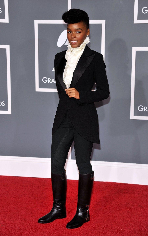 Janelle Monáe 2009 Grammys