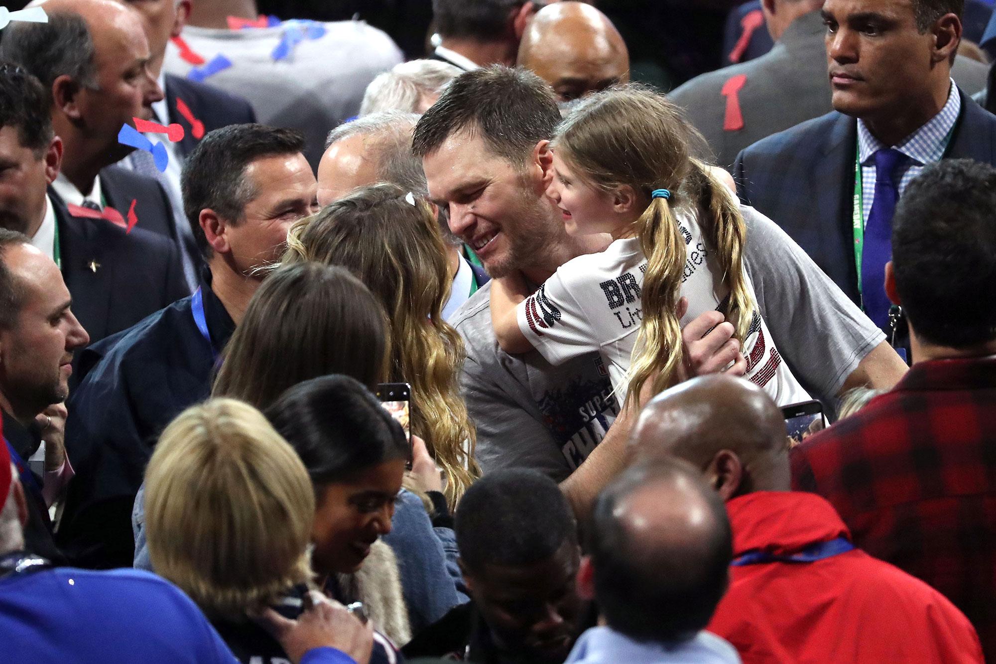 Tom Brady Talks Gisele Bundchen, Kids After Super Bowl 2019 Win