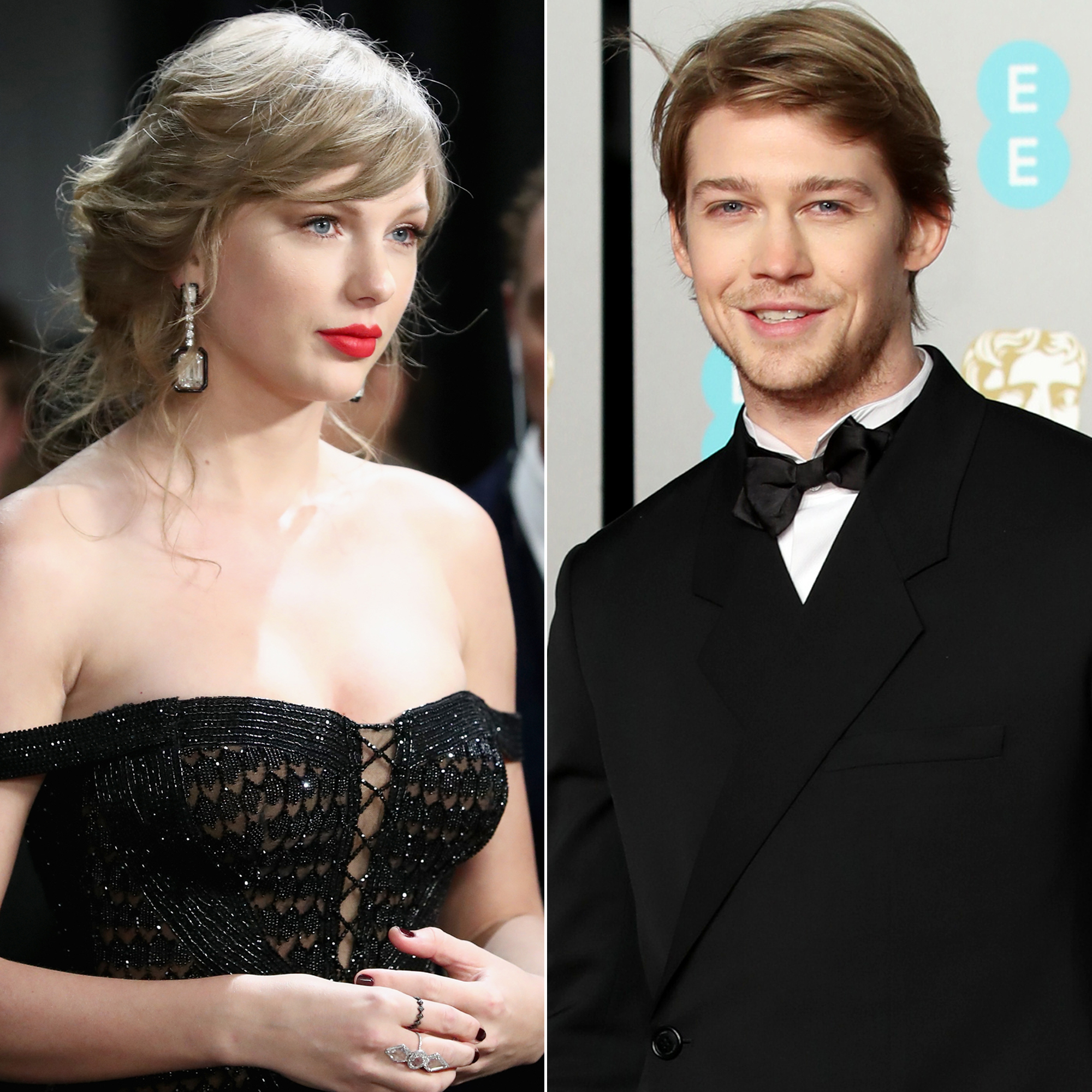 Taylor Swift Is a Proud Girlfriend at the 2019 BAFTA Awards as She Congratulates BF Joe Alwyn - Taylor Swift and Joe Alwyn.