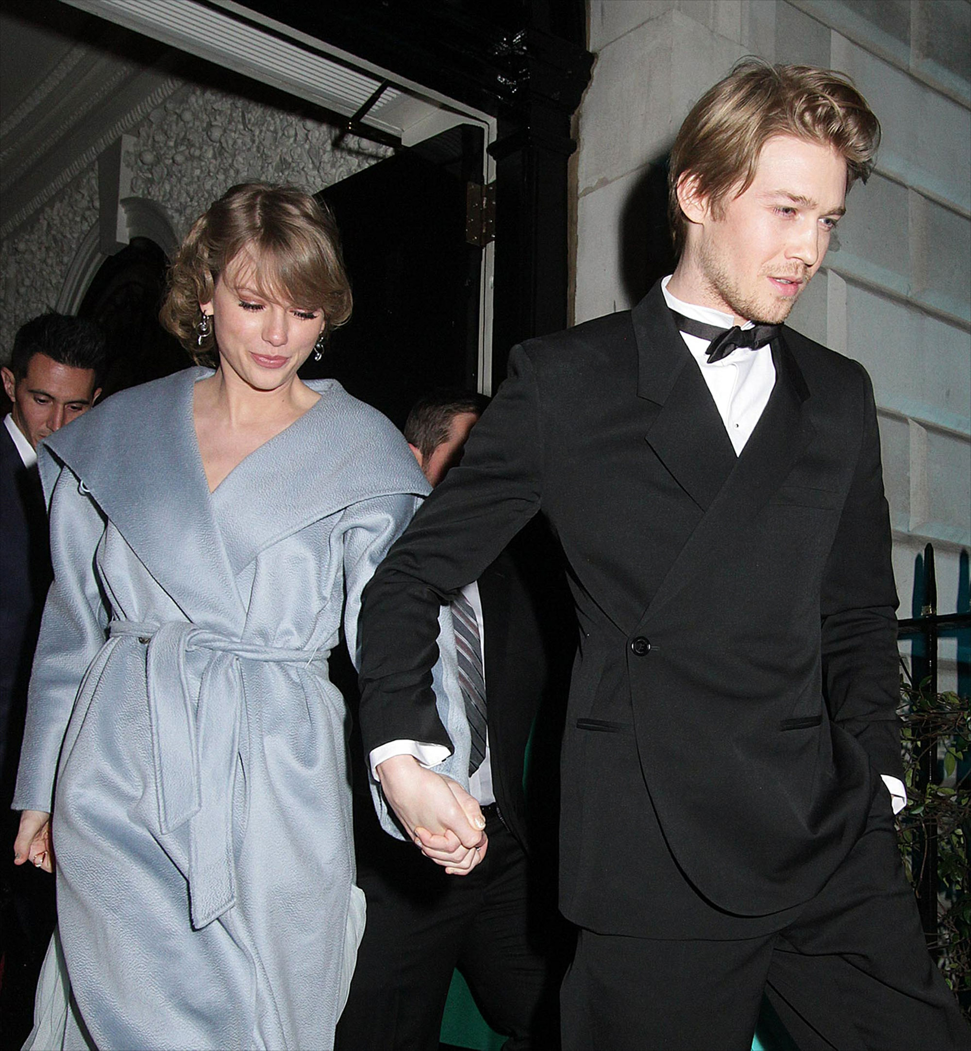 Taylor Swift and Joe Alwyn: A Timeline of Their 'Gorgeous' Relationship - The pair held hands once more while making a rare public appearance together at a British Academy of Film and Television Arts Awards afterparty in London on February 10.