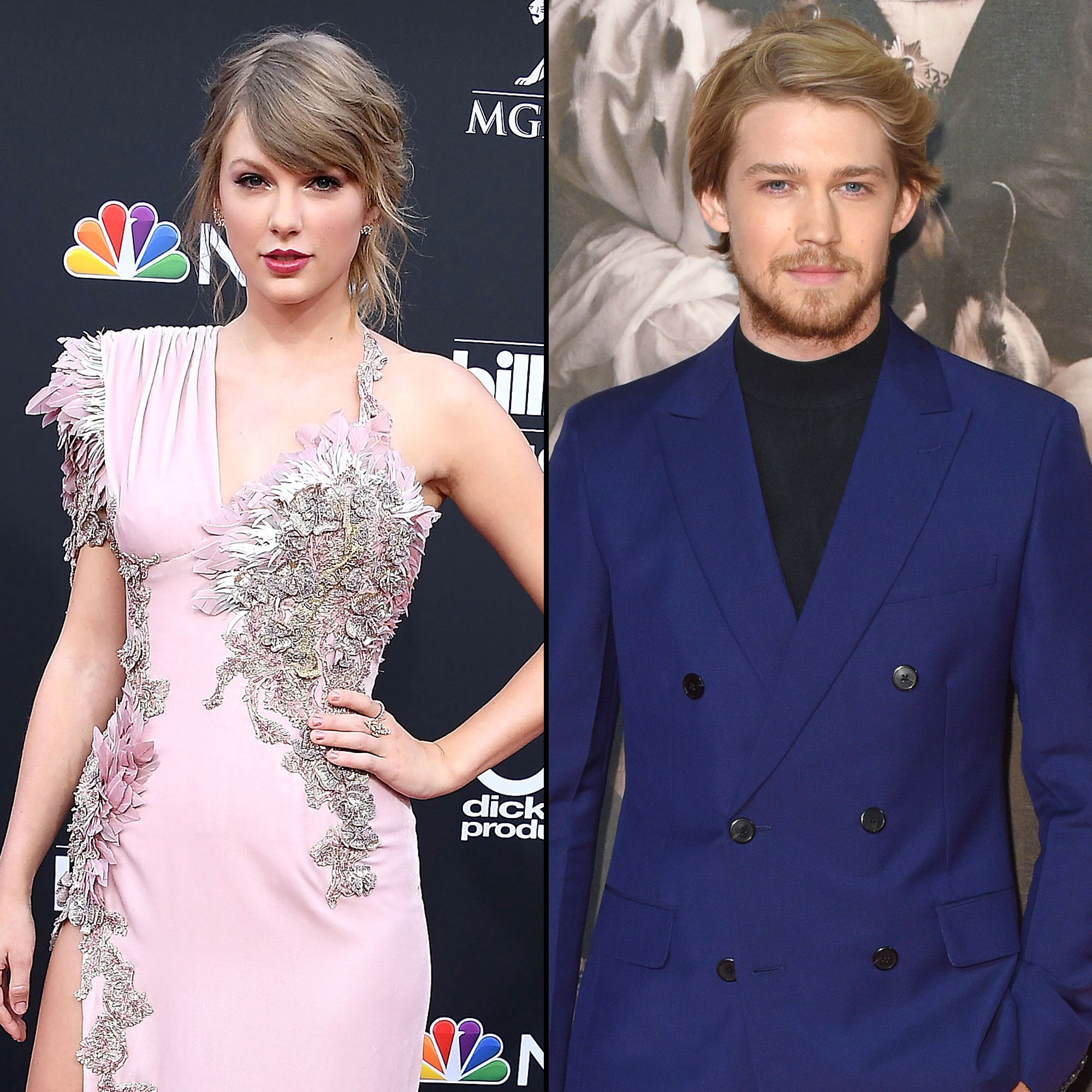 "Taylor Swift and Joe Alwyn: A Timeline of Their 'Gorgeous' Relationship - A video of the couple at Vanity Fair 's 2019 Oscars afterparty showed them packing on the PDA, with Alwyn resting his hand on his girlfriend's shoulder and Swift rubbing his back. ""Taylor stayed for a long time. She mingled throughout the party and seemed very happy the whole night,"" an eyewitness told Us exclusively."