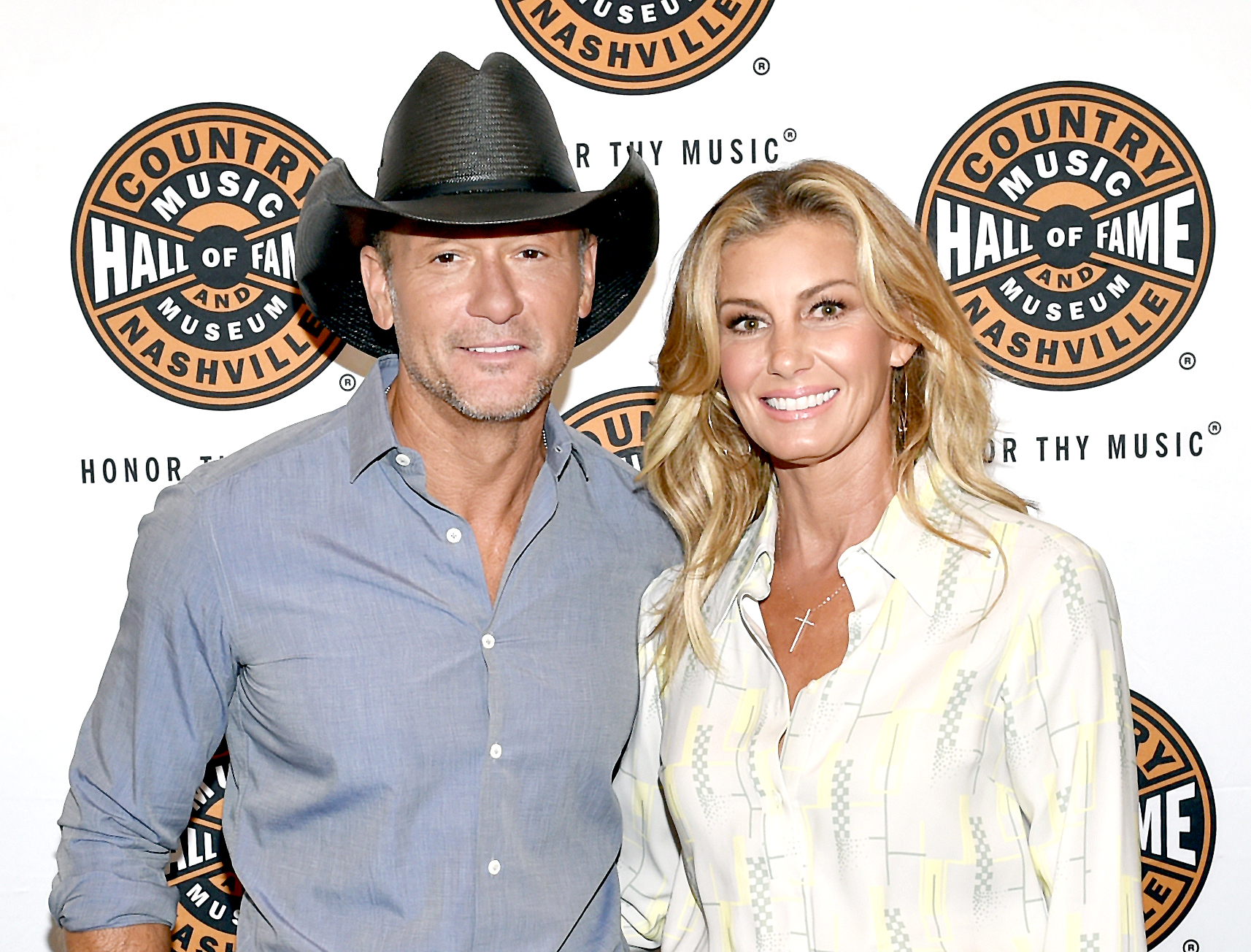 Tim-mcgraw-faith-hill - Tim McGraw and Faith Hill attend the All Access program at The Country Music Hall Of Fame And Museum's CMA Theater on May 3, 2018 in Nashville, Tennessee.