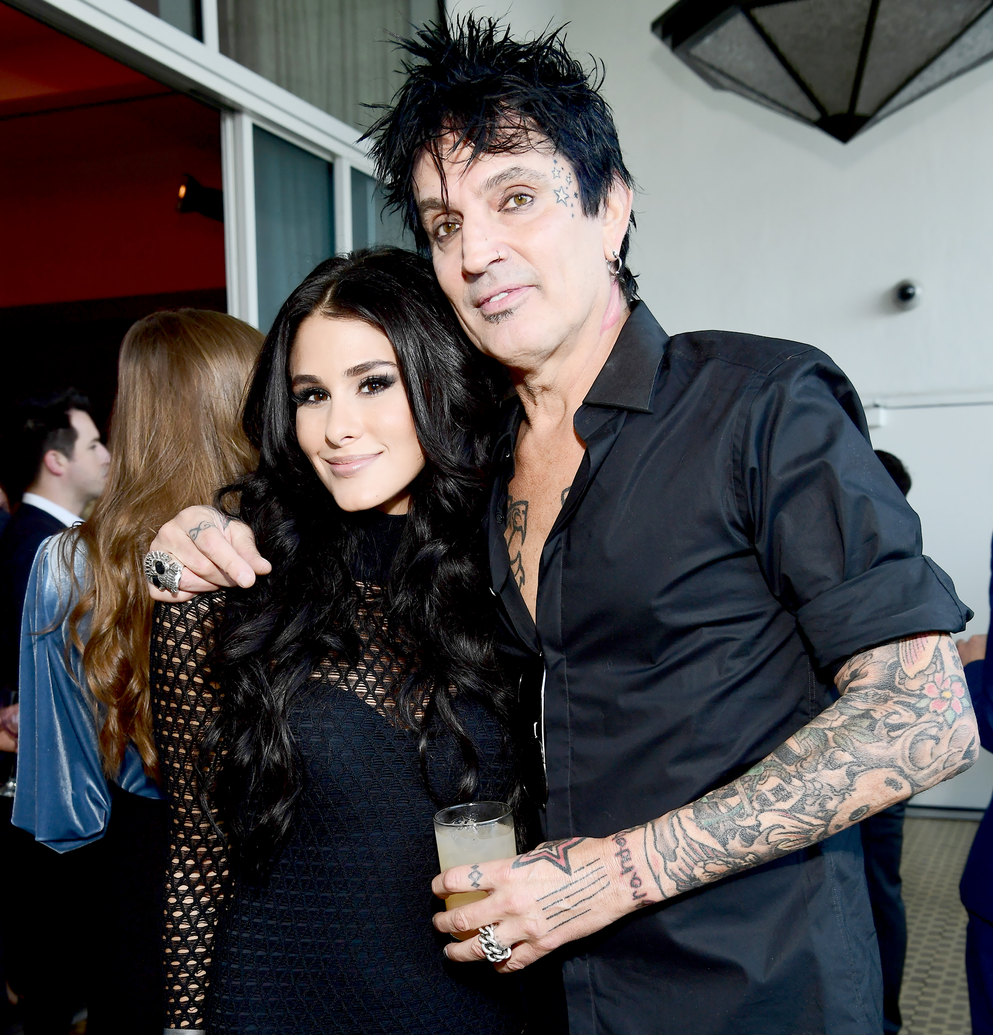Tommy-Lee-and-Brittany-Furlan-married - Valentine's Day is a special holiday for the Mötley Crüe drummer and former Vine star. The couple announced their engagement on Valentine's Day 2018 and tied the knot exactly one year later.
