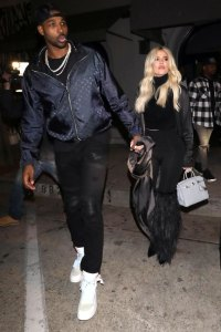Tristan Thompson Spotted Flirting With Girls at L.A. Bar on Valentine's Day