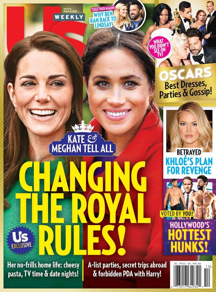 Us Weekly Cover Duchess Kate Duchess Meghan Royal Rules
