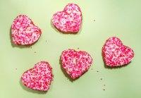 Sparkling Heart Vanilla Marshmallows