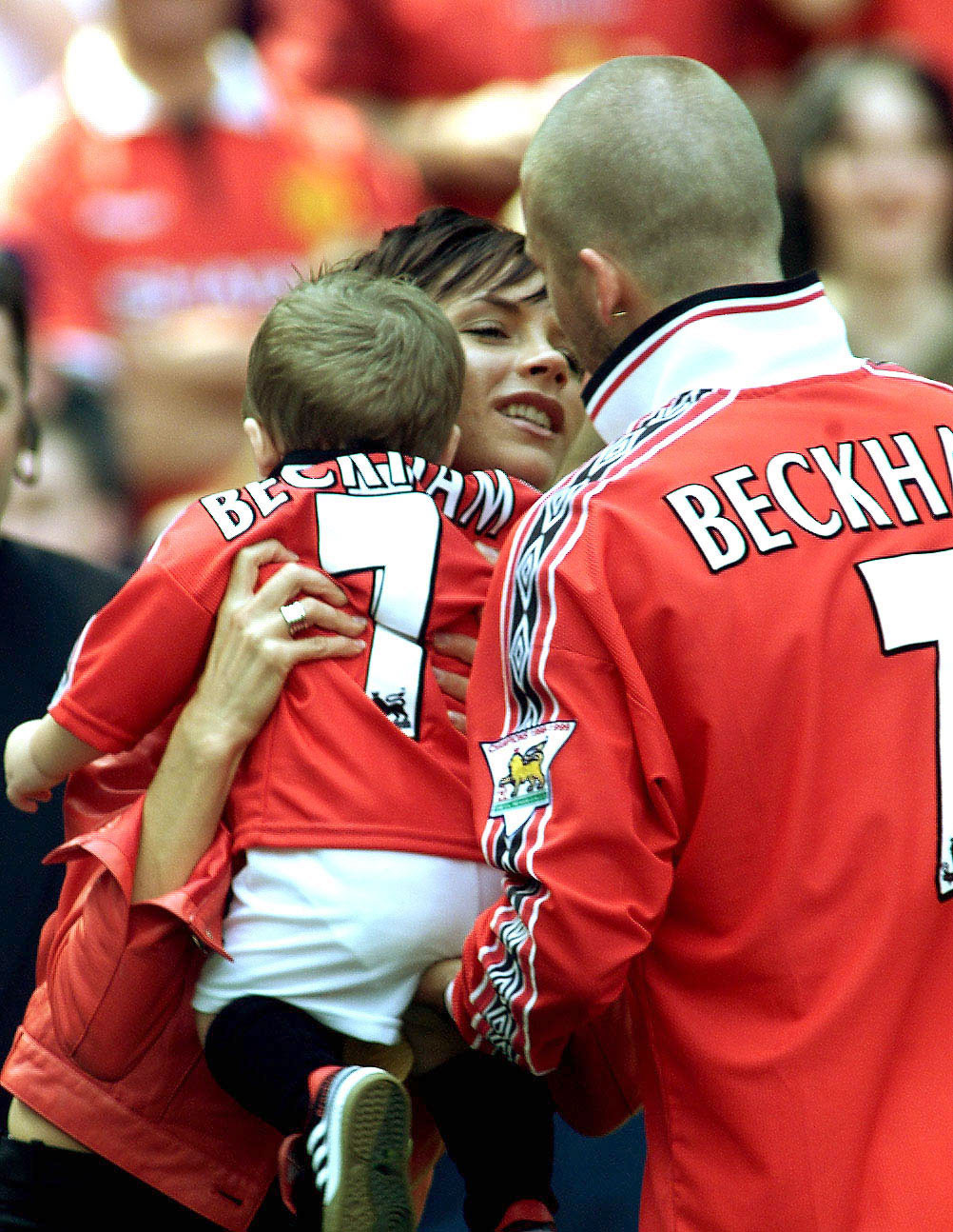 "Victoria and David Beckham timeline gallery - The Learning to Fly author and the athlete announced that they were expanding their family in February 2002. ""This year has been such an exciting year for us — England are in the World Cup finals, Victoria's had a second top 10 hit and now we are expecting a new baby,"" they said in a joint statement at the time."