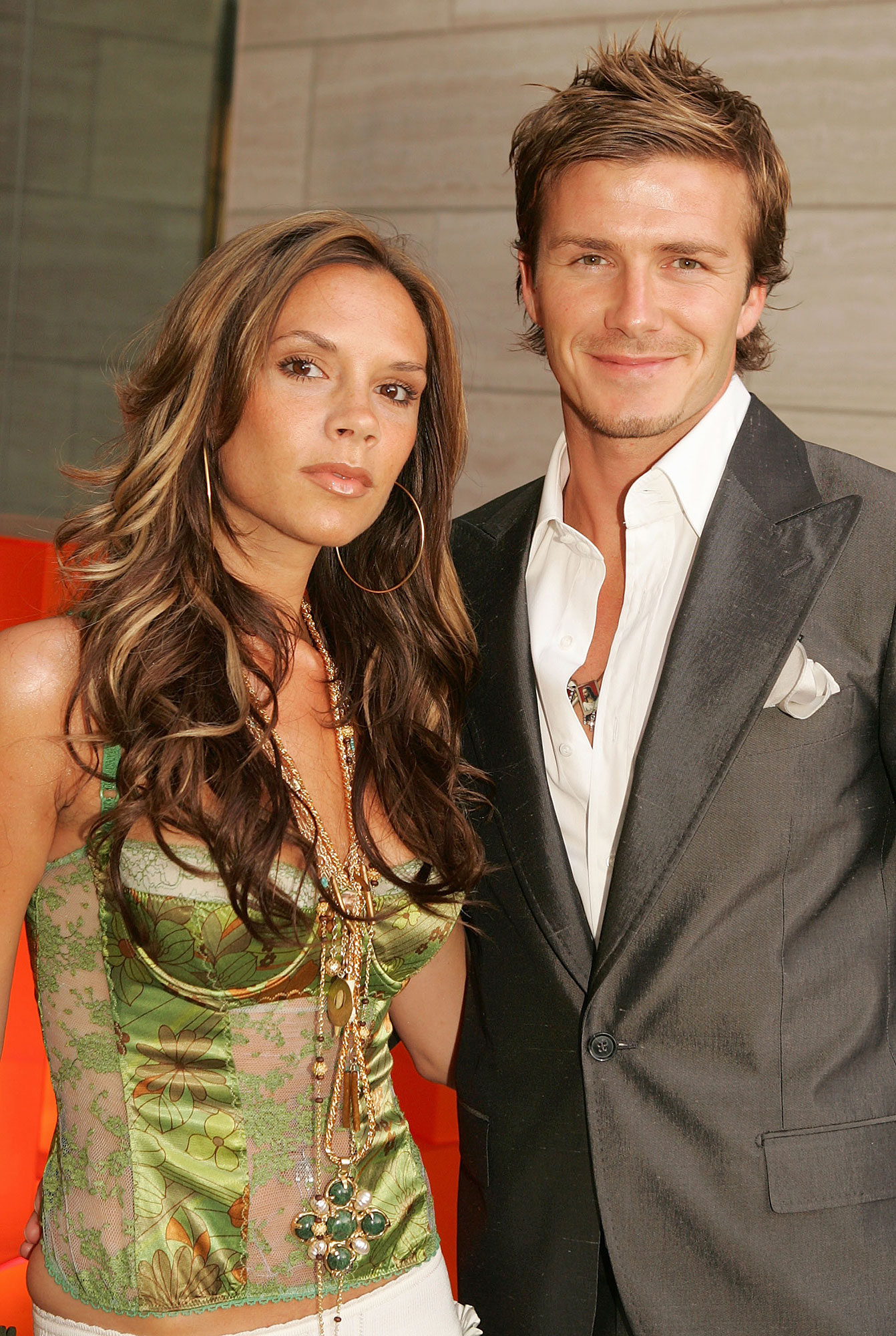 "Victoria and David Beckham timeline gallery - The couple's little one made his grand entrance into the world on February 21, 2005. ""We've got a baby boy. His name is Cruz,"" David shared with reporters outside a Madrid hospital, according to Reuters ."