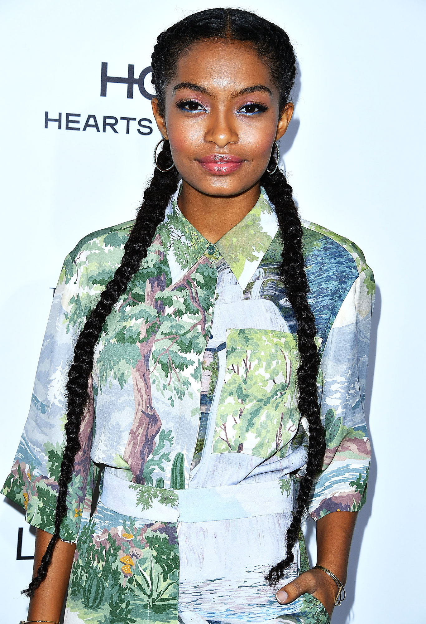 Yara Shahidi - The only thing better than one mile-long Dutch braid? A pair of them, as the Black-ish star proved at the 2016 Elle Women in Hollywood Awards.
