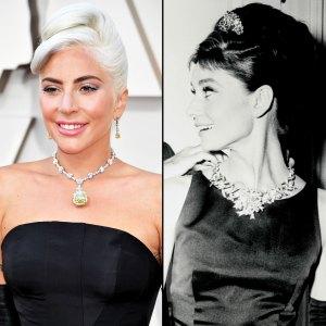 Lady Gaga's Oscars Diamond Was Last Worn By Audrey Hepburn