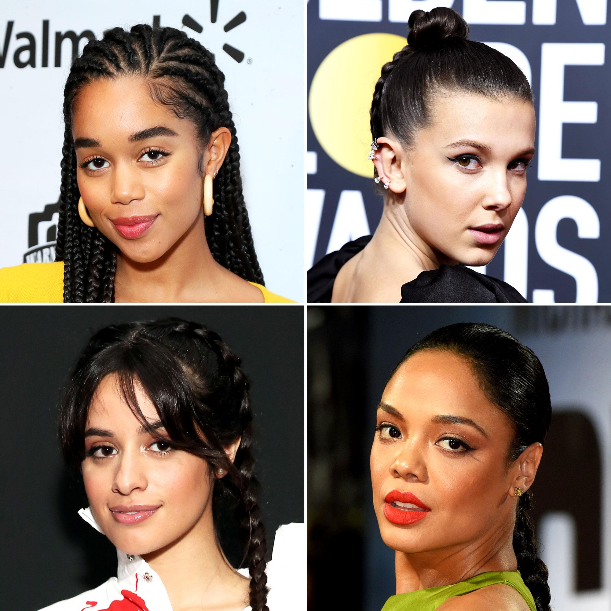 Celeb Braid Hairstyle Ideas: Camilla Cabello, Jennifer Lopez ...