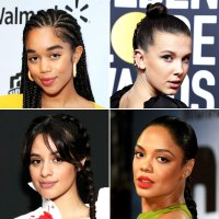 braids Laura Harrier, Millie Bobbie Brown, Camila Cabello and Tessa Thompson